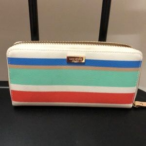 kate spade Bags - KATE SPADE LARGE COLORFUL TOTE:) With WALLETS